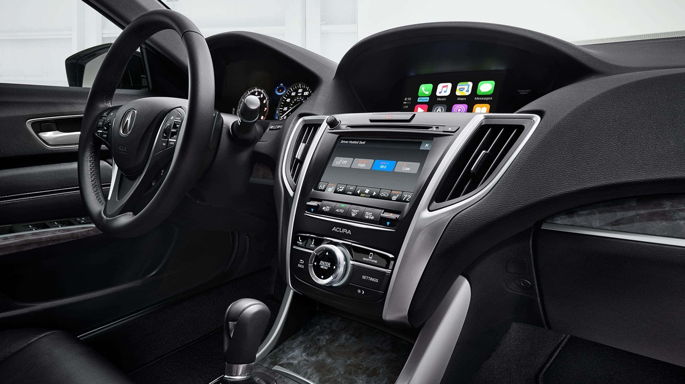 2018 Acura TLX with Technology Package Interior Dashboard
