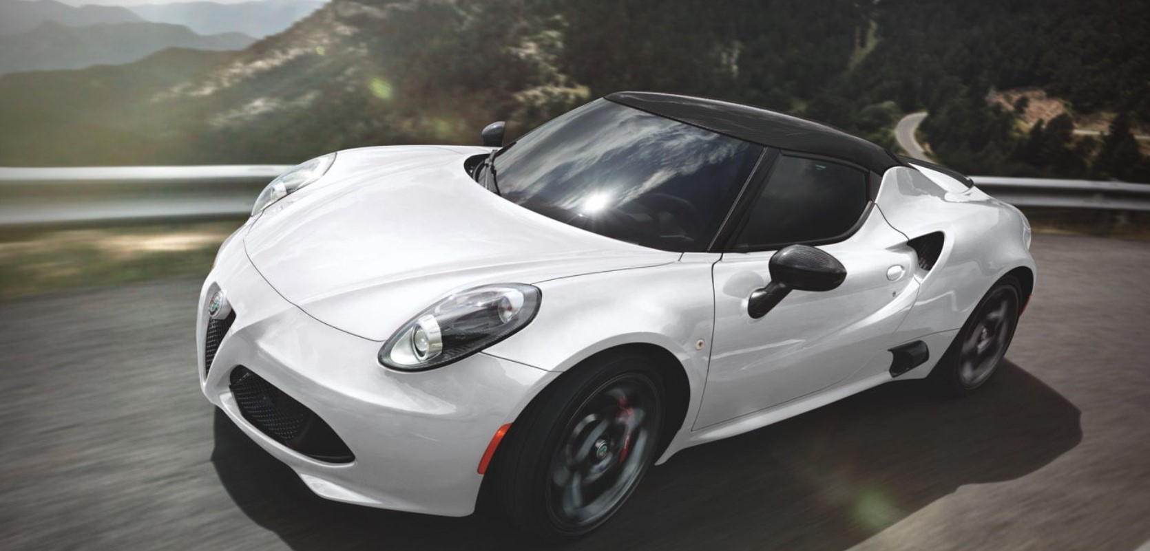 2018 Alfa Romeo 4c Coupe Of Anaheim Hills Msrp White Front Exterior