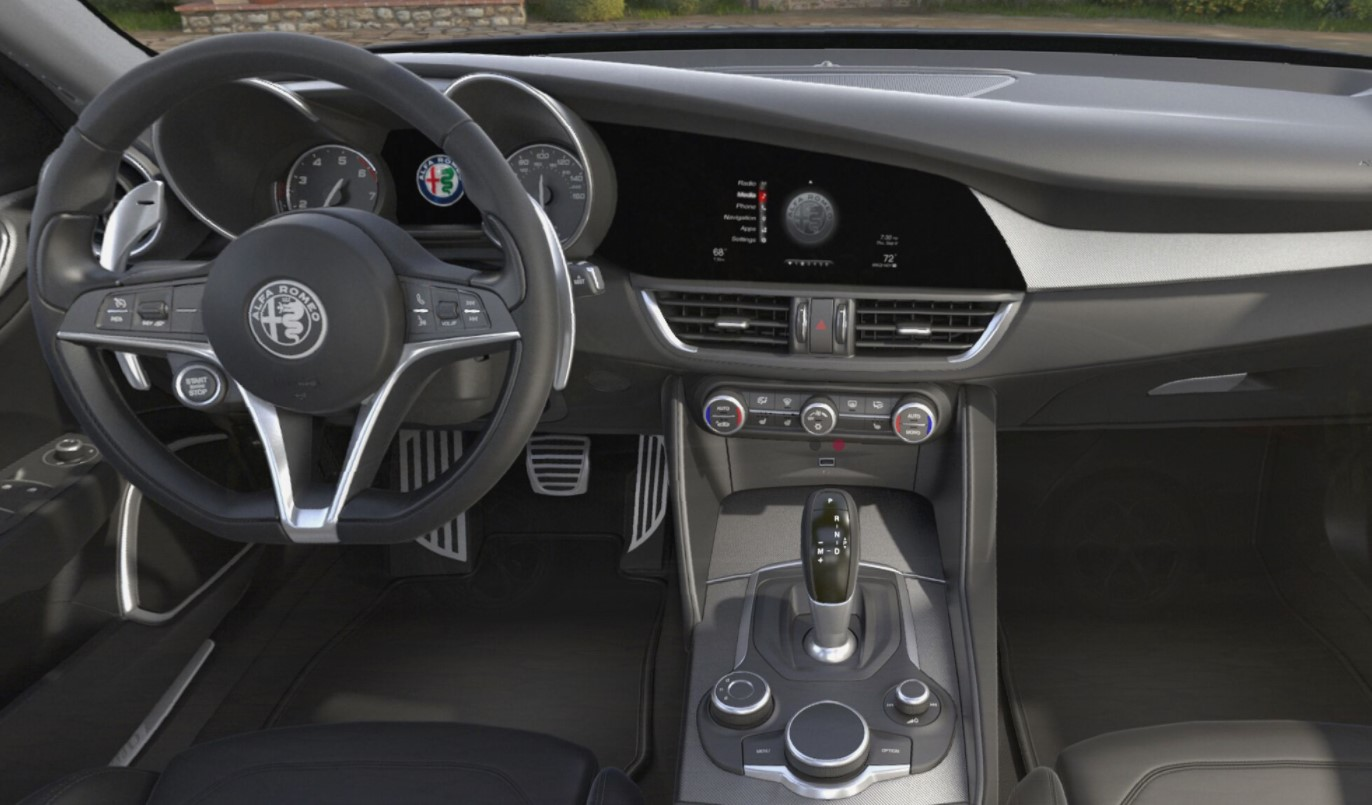 2018 Alfa Romeo Giulia Ti Sport Of Ontario Steering Wheel Dashboard Interior