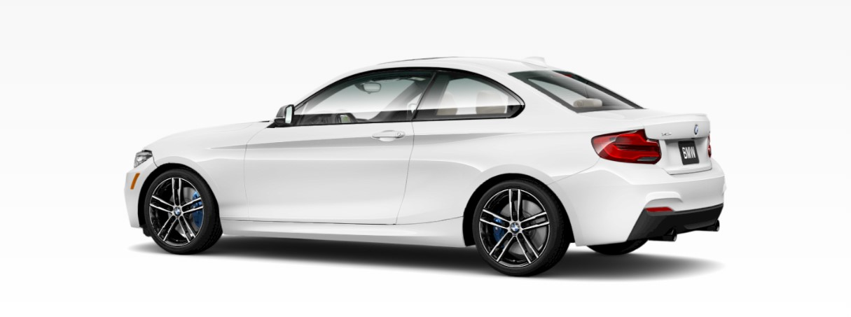 2018 BMW M240i White Rear Exterior