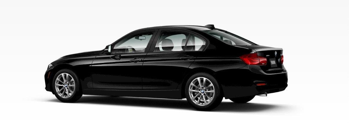 2018 BMW 3 Series 320i Black Rear Exterior