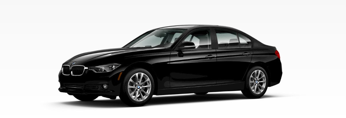 2018 BMW 3 Series 320i Front Black Exterior