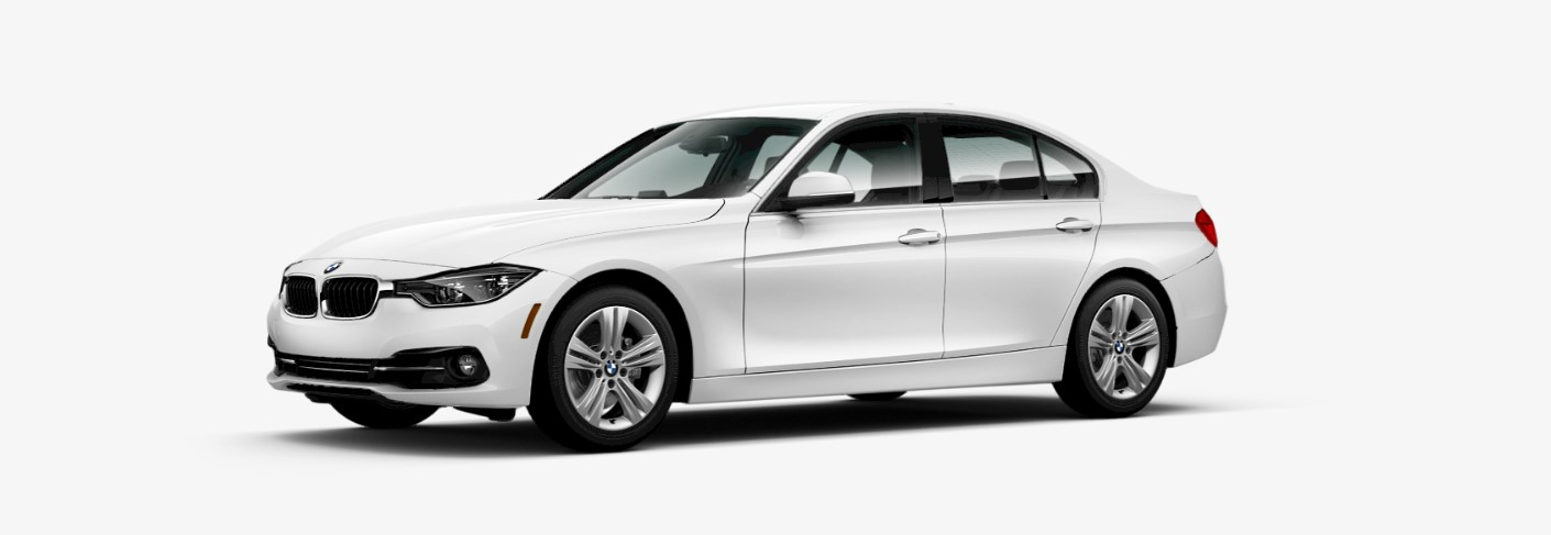 2018 BMW 328d Sedan Front White Exterior Picture