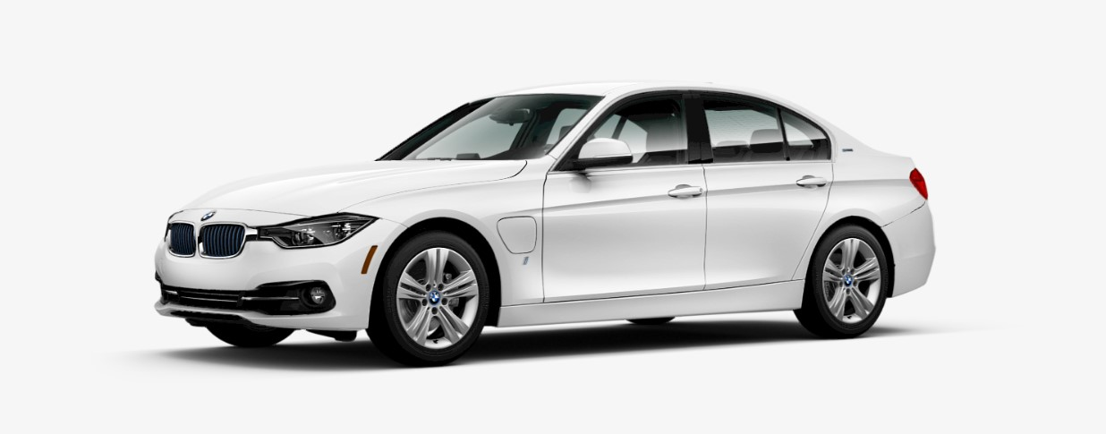 2018 BMW 330e iPerformance Sedan Front White Exterior Picture