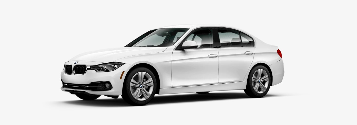 2018 BMW 330i Sedan Front White Exterior Picture