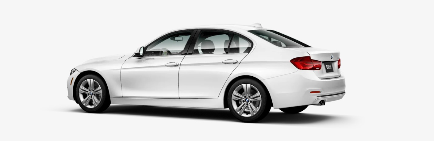 2018 BMW 330i Sedan Rear White Exterior Picture