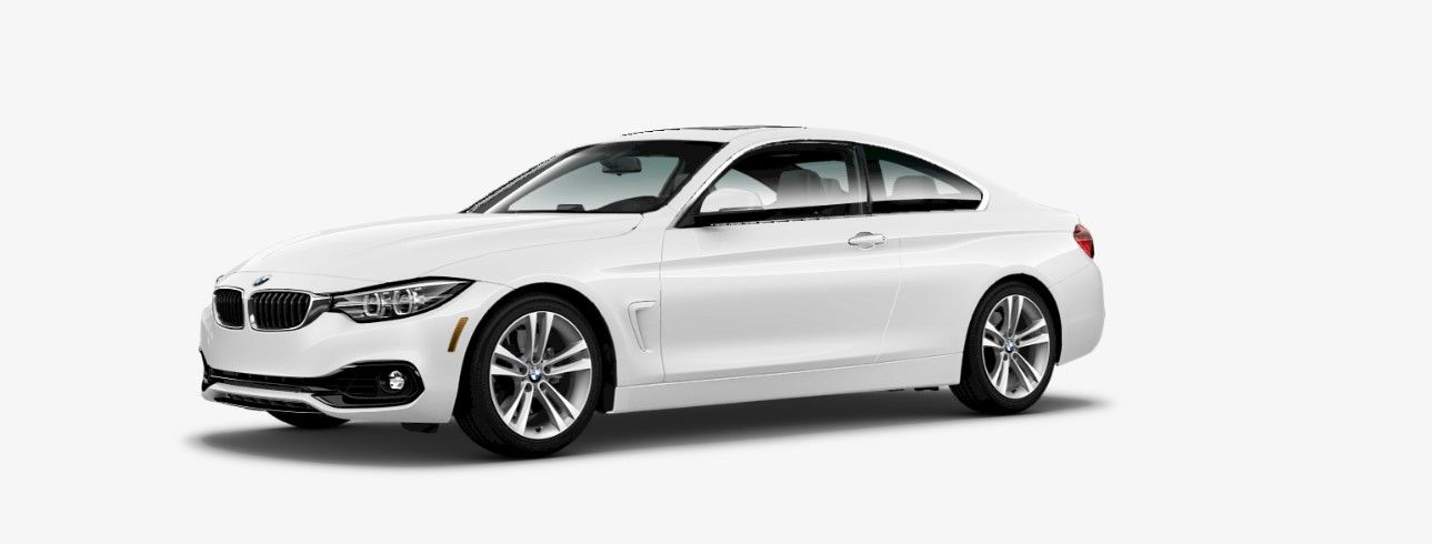 2018 BMW 4 Series 440i Front White Exterior