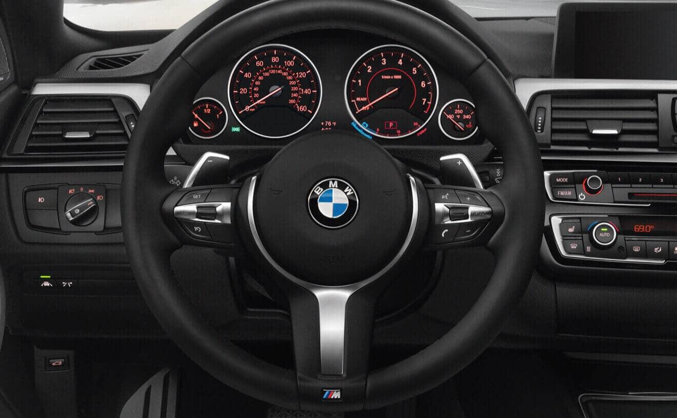 2018 BMW 440i XDrive Gran Coupe Dashboard Interior