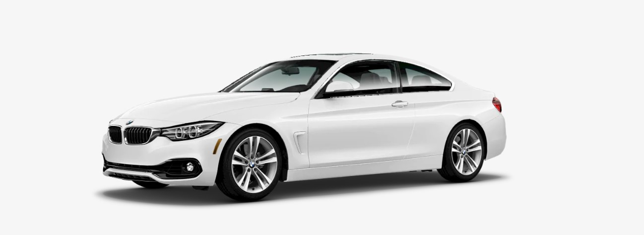 2018 BMW 440i Front White Exterior Picture