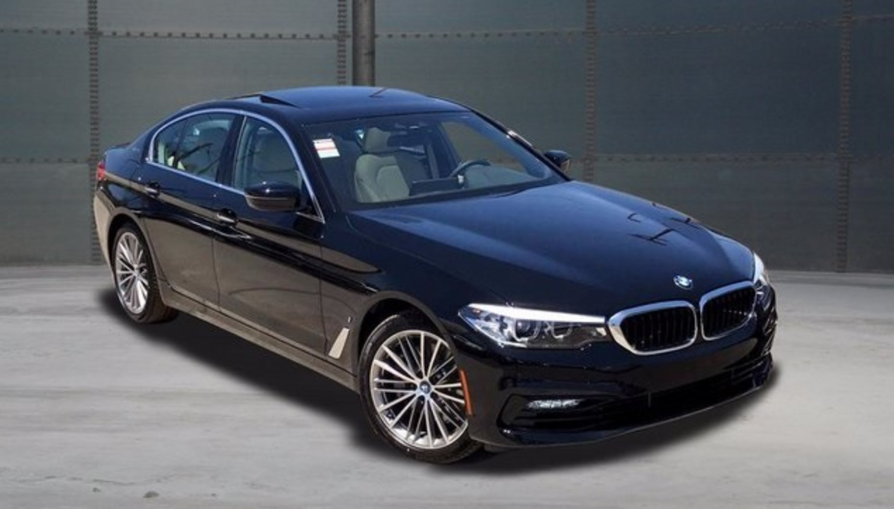 2018 BMW 5 Series iPerformance Sport Front Black Exterior