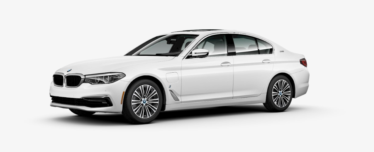 2018 BMW 530e iPerformance Front White Exterior