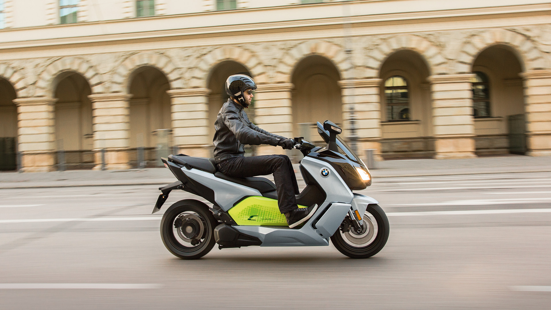New BMW Urban Mobility Motorcycle
