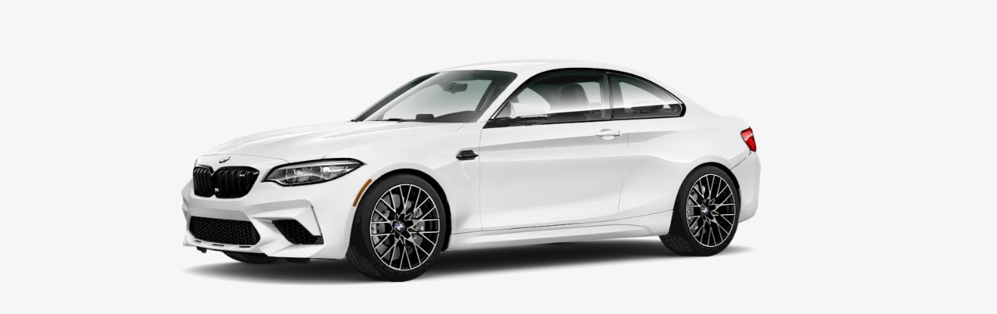 2018 BMW M2 Front White Exterior