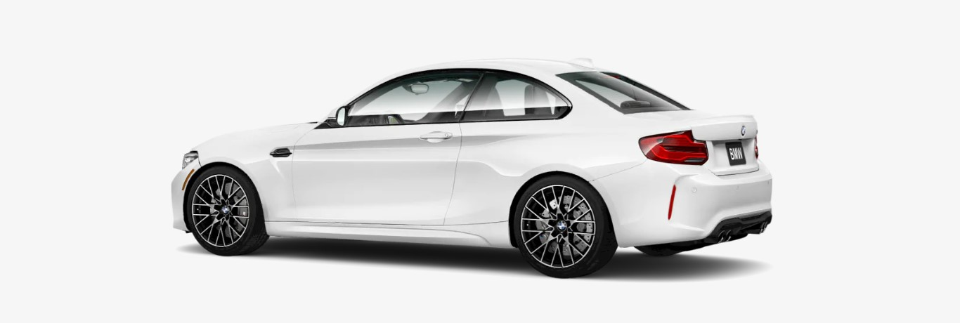 2018 BMW M2 Rear White Exterior