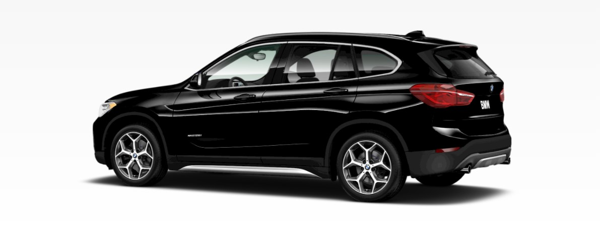 2018 BMW X1 Black Rear Exterior
