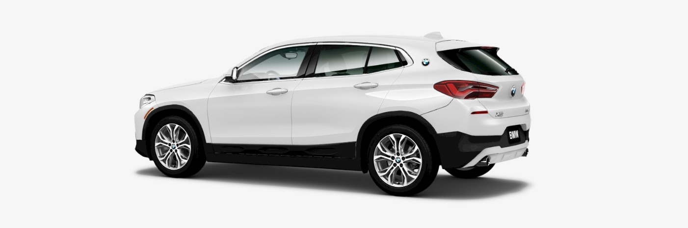 2018 BMW X2 sDrive28i Rear White Exterior