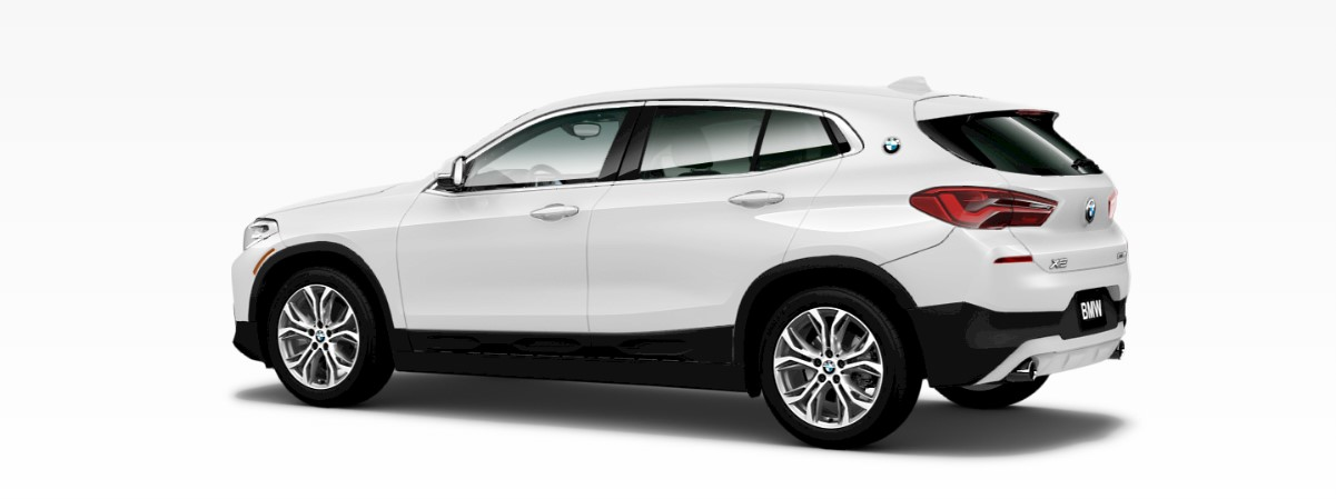2018 BMW X2 White Rear Exterior