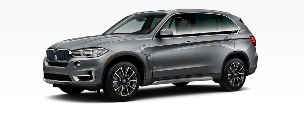 2018 BMW X5 xDrive40e iPerformance Gray Rear Exterior