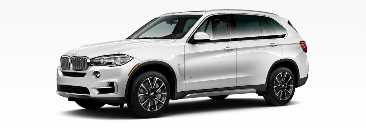 2018 BMW X5 xDrive50i Front Mineral White Metallic Front Exterior