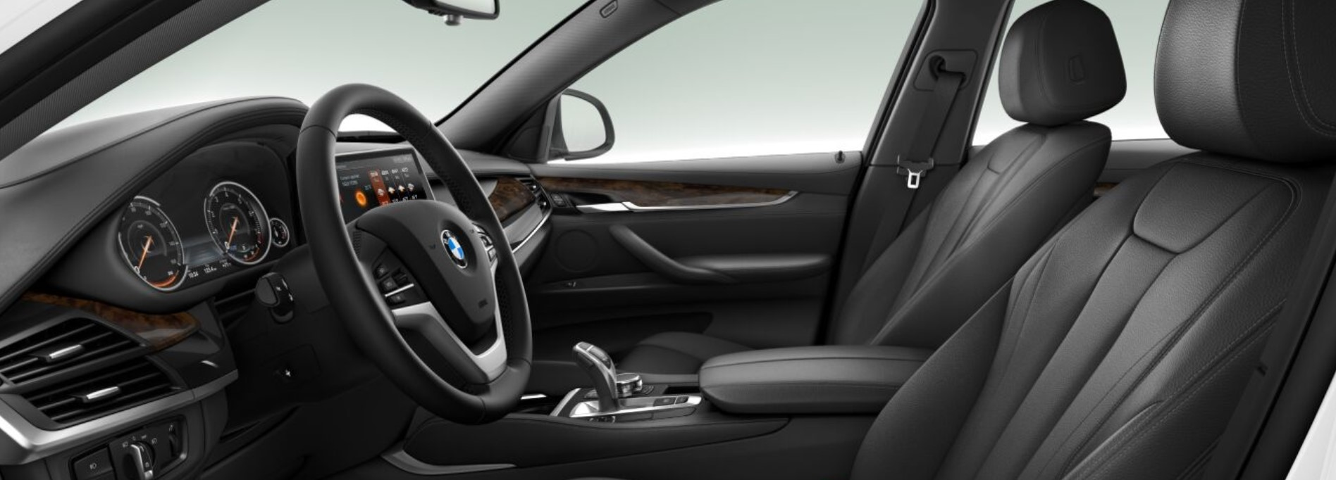 2018 BMW X6 xDrive35i Dark Leather Interior