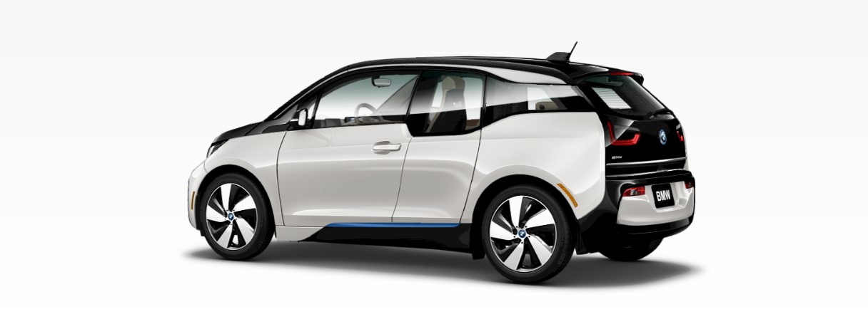2018 BMW i3 White Rear Exterior