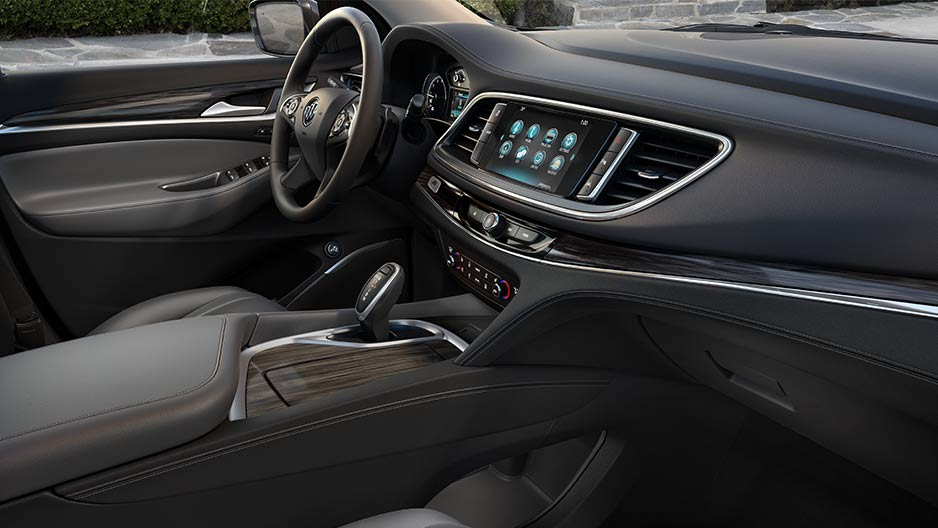 2018 Buick Enclave Black Leather Interior