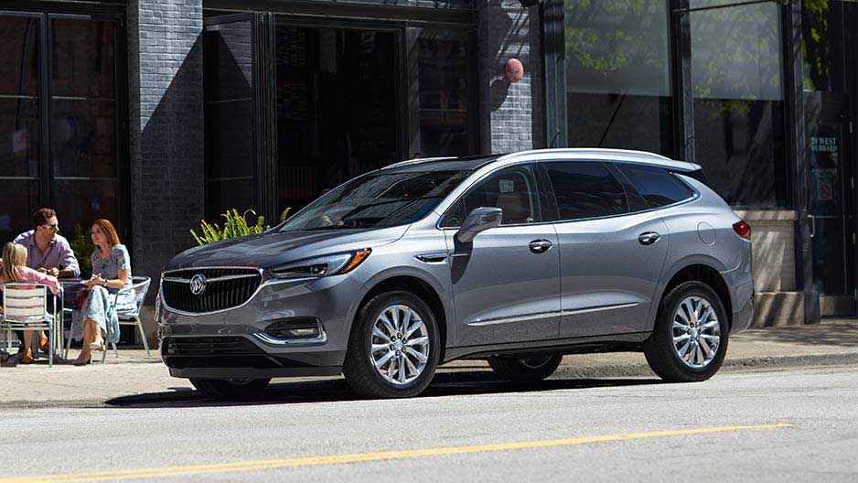 2018 Buick Enclave Silver Front Exterior