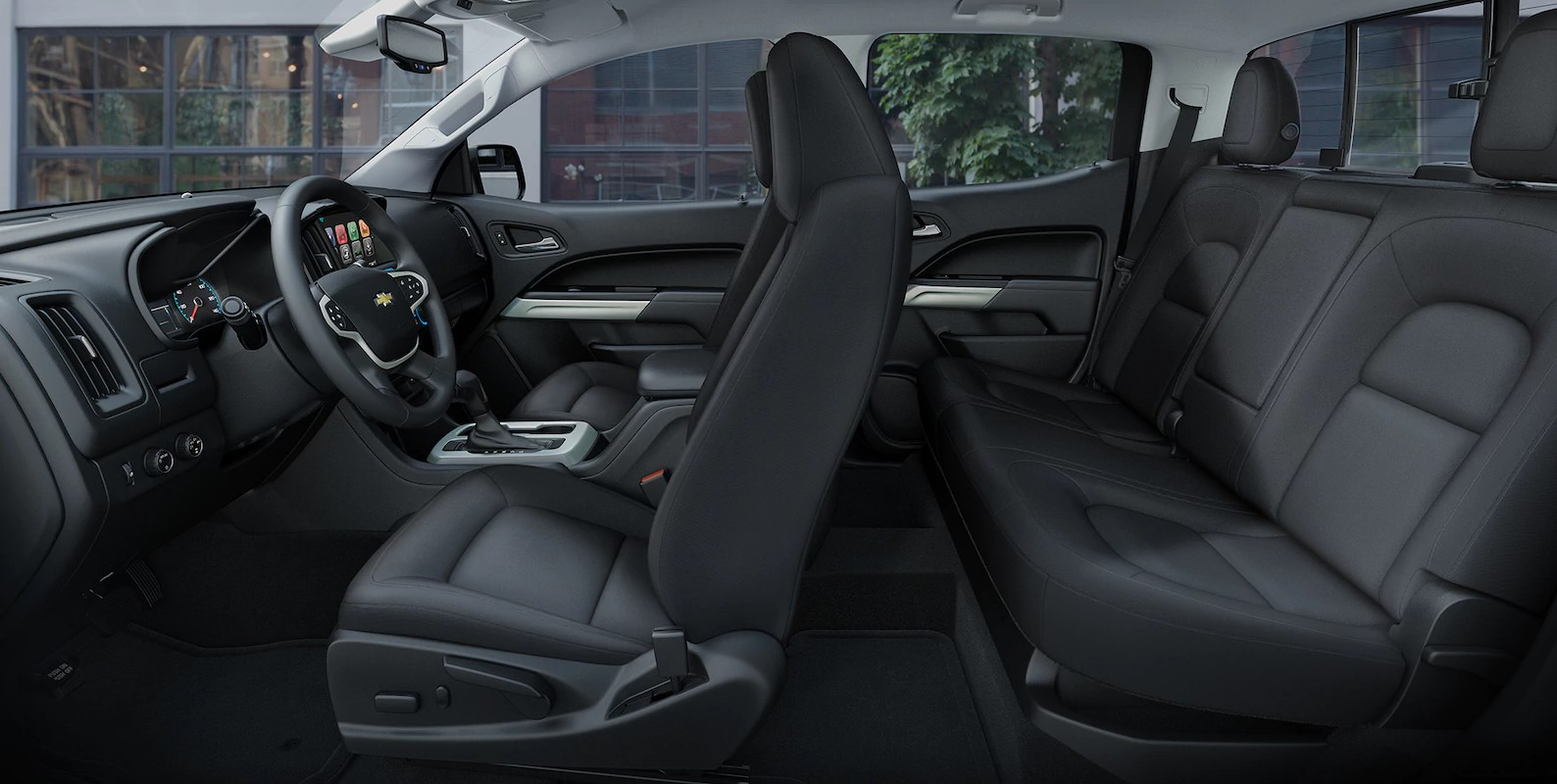 2018 Chevrolet Colorado Black Interior