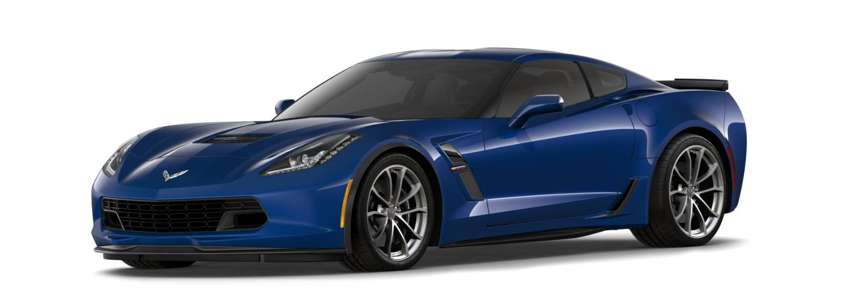 2018 Chevrolet Corvette Grand Sport Blue Front Exterior