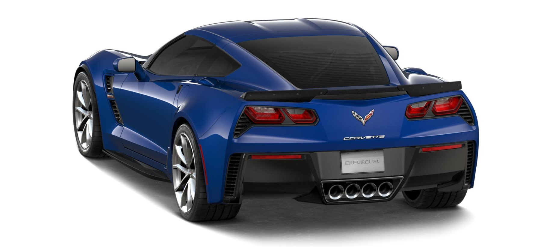2018 Chevrolet Corvette Grand Sport Blue Rear Exterior