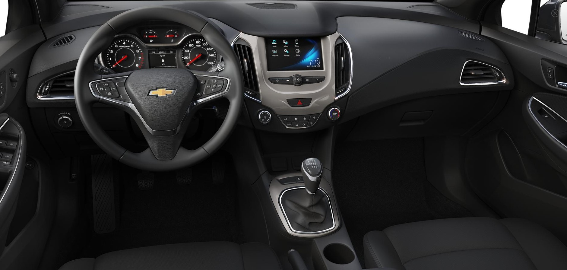 Chevrolet Cruze Infotainment System: If the System Needs Service