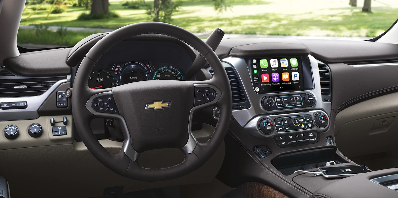 2018 Chevrolet Suburban Front Dashboard Interior