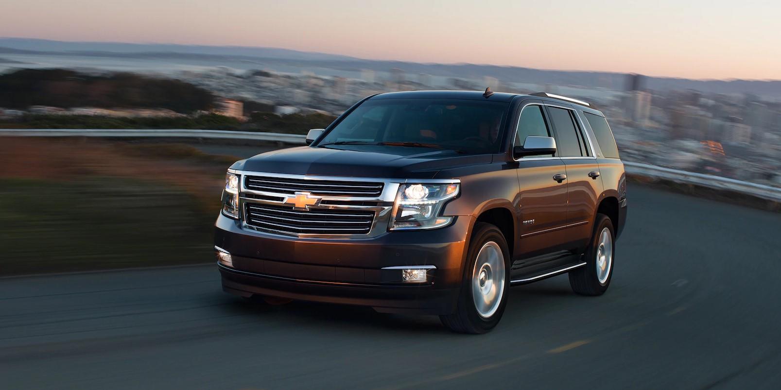 2018 Chevrolet Tahoe Brown Front Exterior