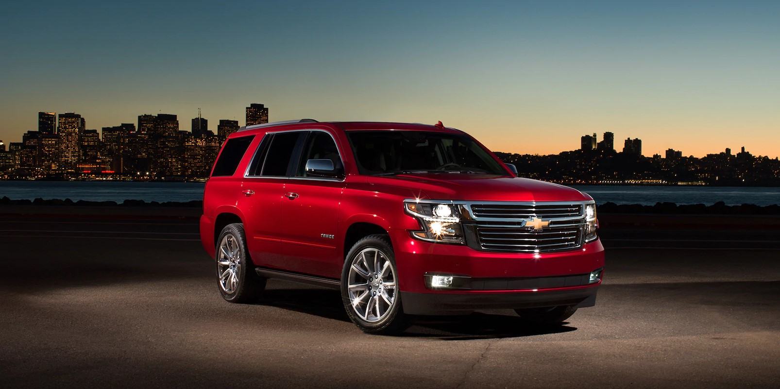 2018 Chevrolet Tahoe Red Front Exterior