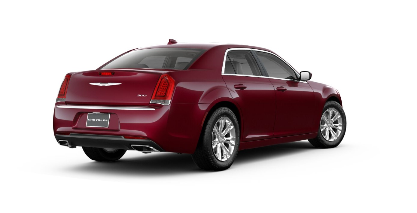 2018 Chrysler 300 Touring L Rear Red Exterior