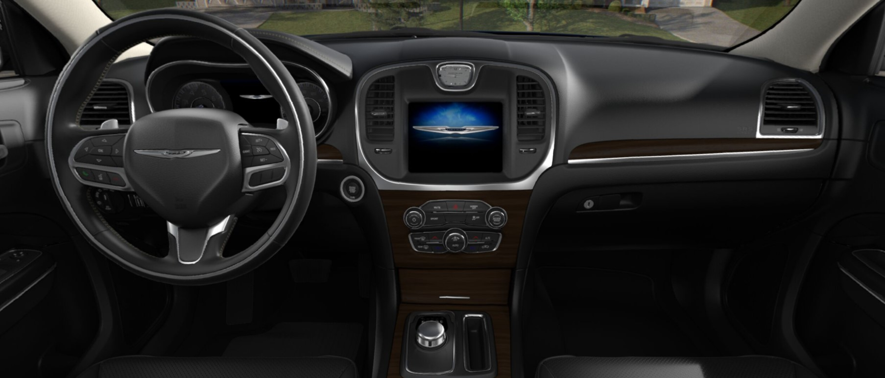 2018 Chrysler 300C Front Dashboard Interior