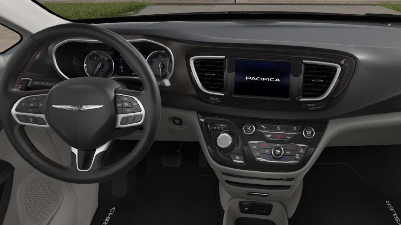 2018 Chrysler Pacifica Touring L Front Dashboard Interior