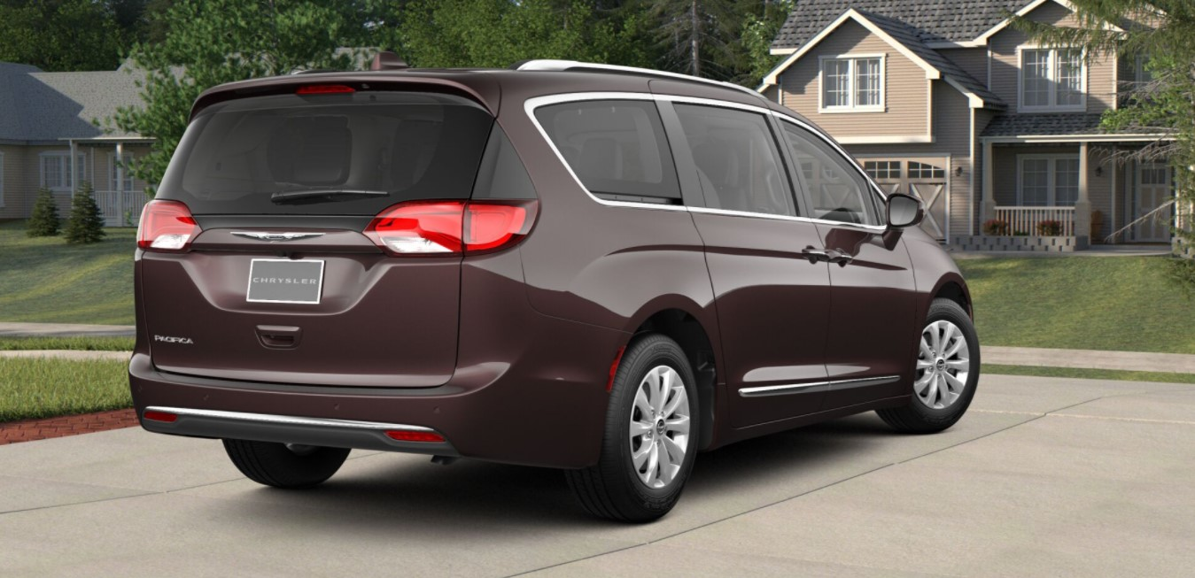2018 Chrysler Pacifica Touring L Rear Brown Exterior