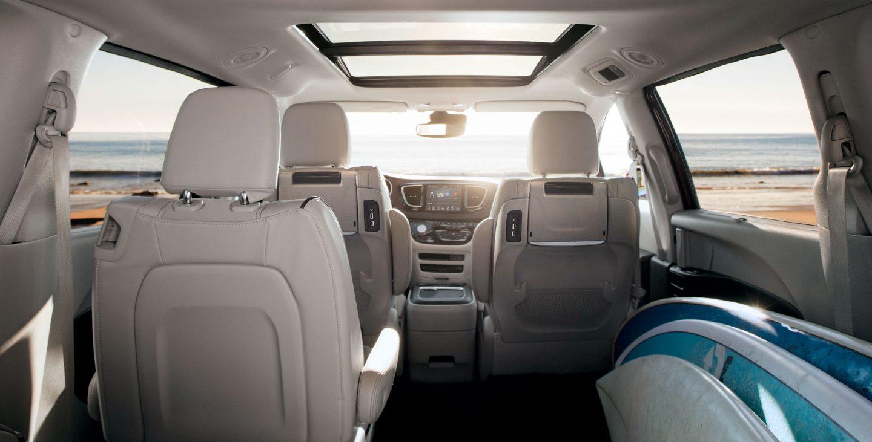2018 Chrysler Pacifica Interior Technology