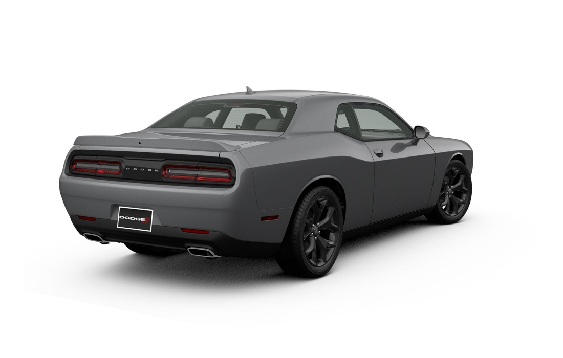 2018 Dodge Challenger SXT Plus Billet Exterior Rear View Picture