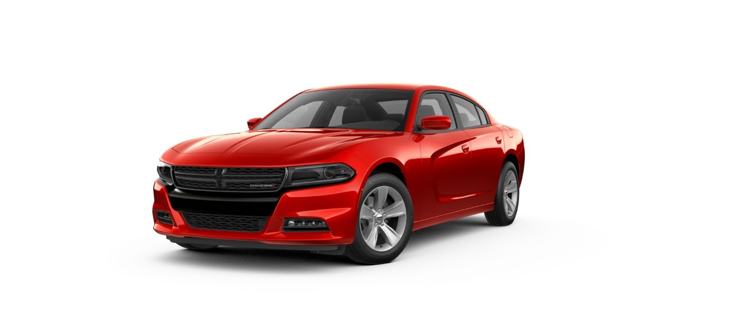 2018 Dodge Charger SXT Plus Red Front Exterior