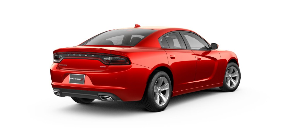 2018 Dodge Charger SXT Plus Red Rear Exterior Picture