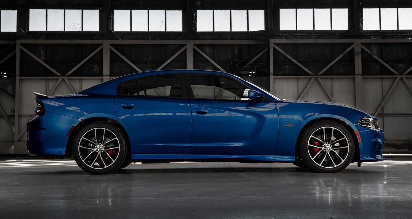 2018 Dodge Charger Blue Side Exterior