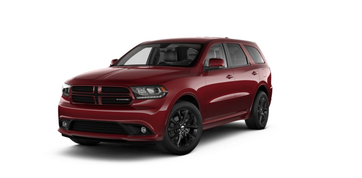 2018 Dodge Durango GT Red Exterior
