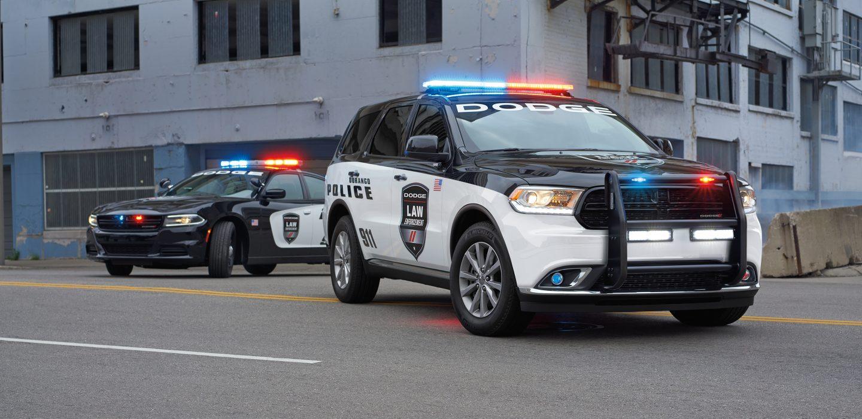 2018 Dodge Durango Special Service Front Black Exterior
