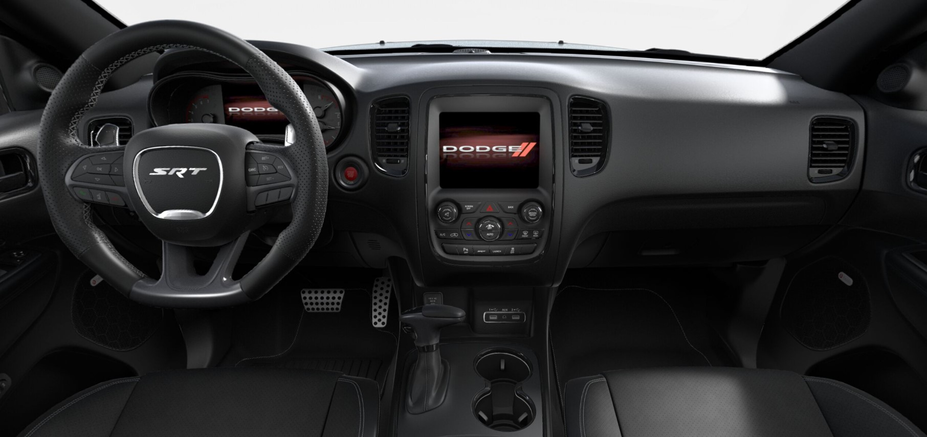 2018 Dodge Durango SRT Black Interior