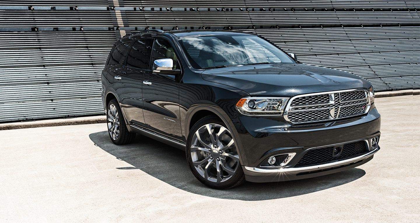 first the row cars look quarter front hp srt review durango nearly three dodge chrysler