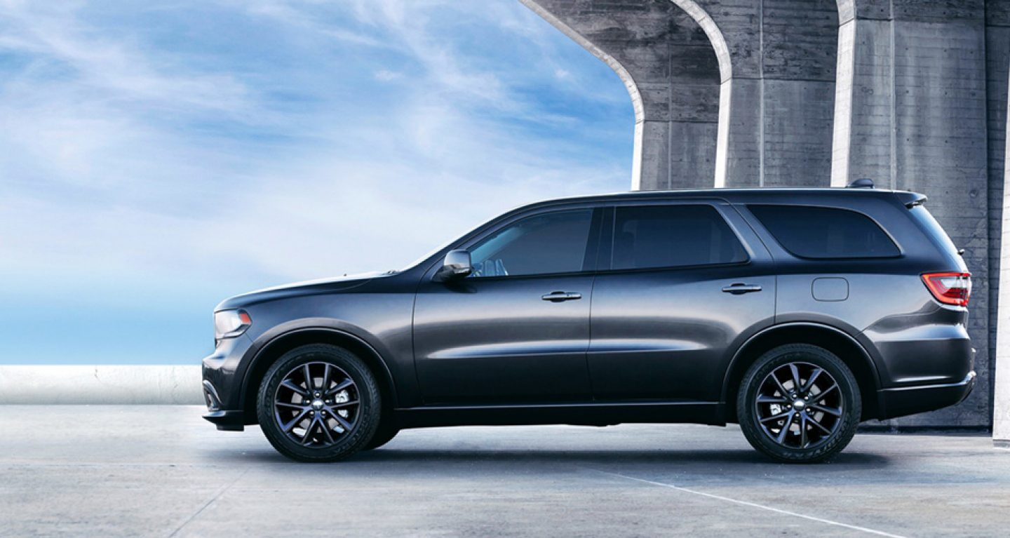 2018 Dodge Durango Granite Exterior Side Profile