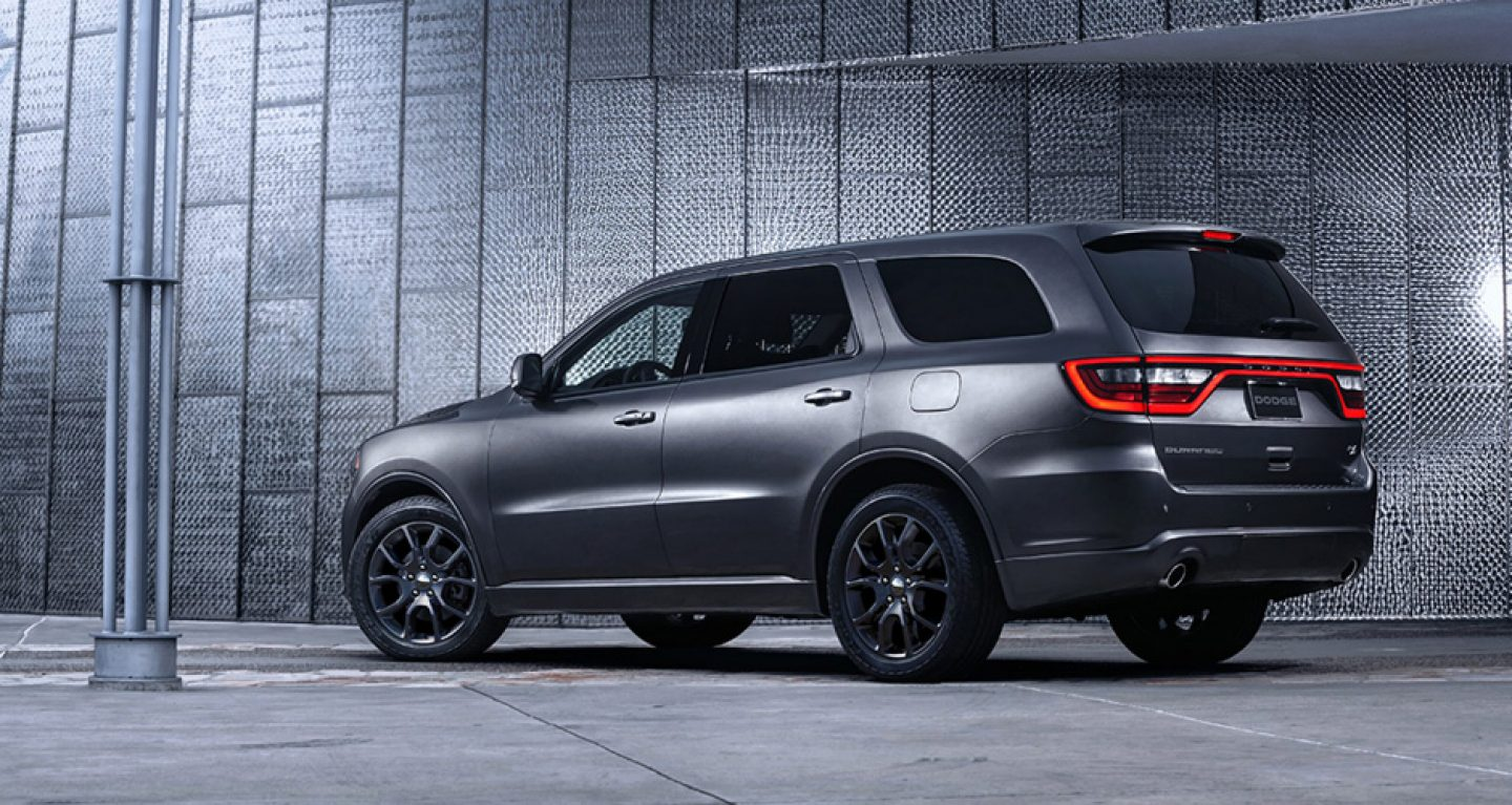 2018 Dodge Durango Silver Exterior Side View