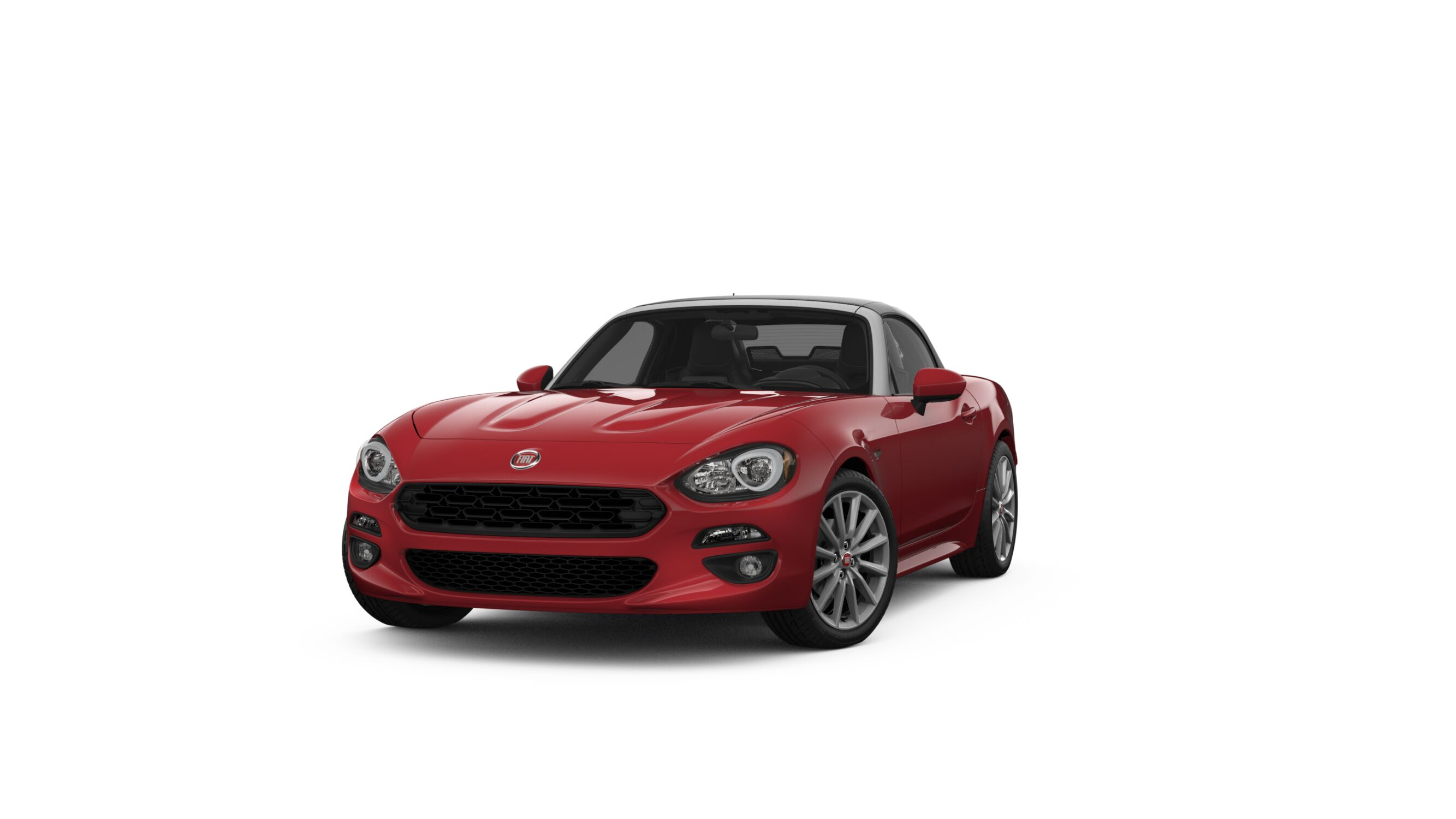 2018 FIAT 124 Spider Lusso Red Exterior Front View